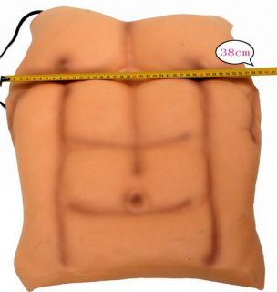 Eva Foam 6 Pack ABS Chest Man Muscle Hunk Costume Halloween Party Fancy Dress