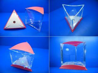 Ista Stylish Display Case Mini LED Fish Tank Pink Color for Betta Fish Guppy