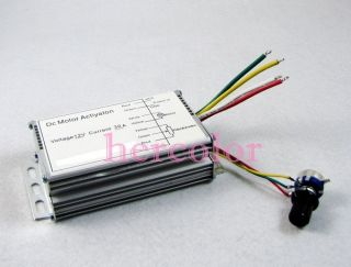 12V 30A 300W DC Motor Speed Control PWM HHO RC Controller Max 300W