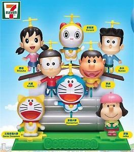 Doraemon Friends Nobita 3D Puzzle Mini Big Head Seven Eleven 7 11 DWC Figure