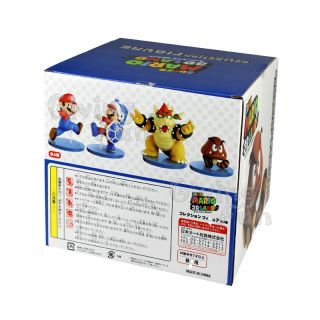 """Genuine Super Mario Bros 6"""" King Bowser 3D Land Collection Action Figure Toy JP"""