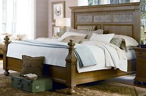 Universal Furniture Paula Deen Down Home Aunt Peggy's California King Bed
