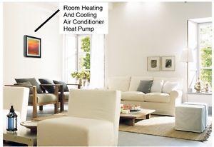 LG Art Cool Custom Picture Frame Ductless Heat Pump 9 000 BTU Mini Split