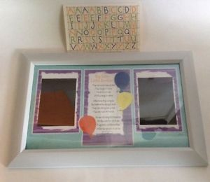 Big Sister Little Brother Poem Picture Frame Personalize