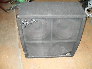 Fender HM 4 12 A 4x12 inch Guitar Speaker Cabinet