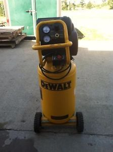 Dewalt 15 Gallon Wheeled Portable Workshop Air Compressor D55168R