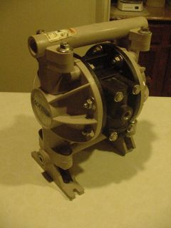 "ARO Softrol 1 2"" Diaphragm Pump New Seals Orings in Air Section Tested"