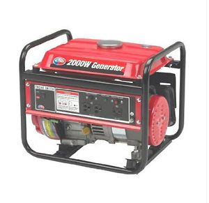 3 HP 2000 Watts Gas Portable Generator RV Home Tools Camping Electric Powered