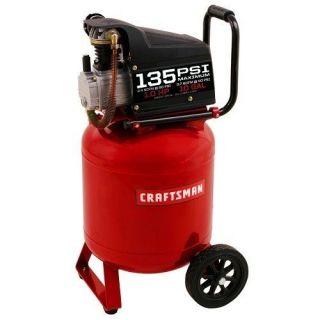Craftsman Portable Vertical Electric Air Compressor Pump Pressure 10 Gal Tank