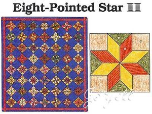 Free Quilt Pattern For 8 Point Star : quilt stippling templates on PopScreen