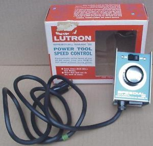 Lutron Speedial Mark II Power Tool Router Motor Speed Dial Control