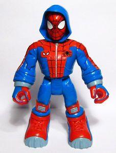 Marvel Spider Man Friends Snowboarding Spider Man Action Figure 2003 Toy Biz
