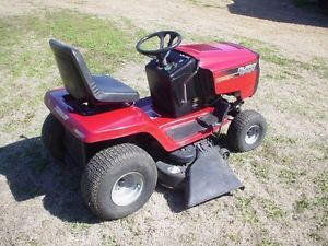 """Murray 46"""" 17 5 HP Hydrostatic Drive Wide Body Riding Lawn Mower Garden Tractor"""