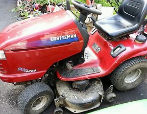 """Craftsman Riding Mower DYT4000 42""""Deck Hydro Parts or Fix"""