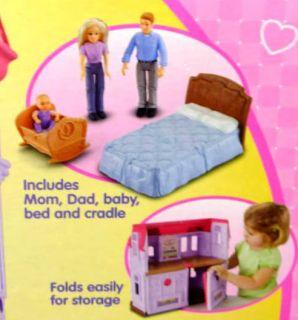Fisher Price Loving Family Dollhouse Van Furniture Dolls Manor House Lot