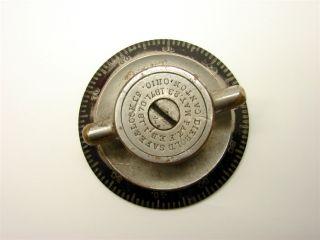 Old Antique Diebold Safe Lock Co Safe Combination Dial Part