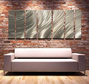 Modern Abstract Metal Wall Art Painting Sculpture Huge