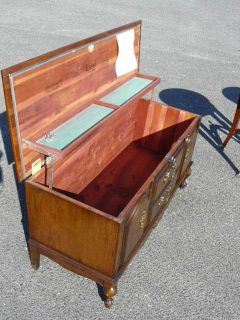 Vintage Cherry Wood French Provincial Lane Cedar Hope Blanket Chest