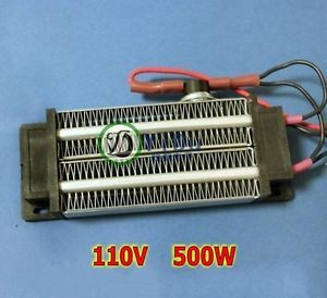 PTC Heating Element Heater 500W AC110V Electric Heater Ceramic Thermostatic