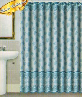 L Shaped Shower Curtain Rods Ocean Themed Bath Curtains