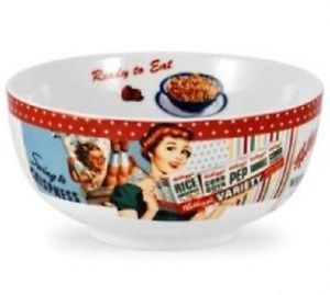 "New Portmeirion Vintage Kellogg's Retro Advertising 6"" Cereal Bowl Kelloggs"