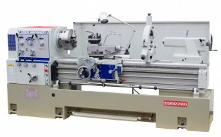 "Eisen 2260G Precision 3"" Spindle Bore Lathe 22"" Swing 15 HP Made in Taiwan"