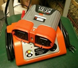 Black Decker 500W Auto Power Inverter and 10 Amp Battery Charger