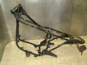 76 Suzuki GT550 Custom Rat Bike Bobber Cafe Racer Frame