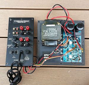 Cerwin Vega Sub 150 Powered Subwoofer Amplifier Plate Repair Service