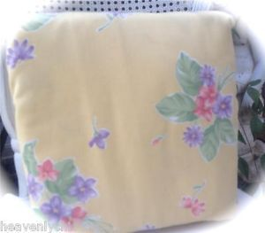 Shabby Country Cottage Yellow Chic Floral Chic Sofa Couch Cover Slipcover New