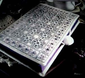 Blackwork Treasure Box Counted Cross Stitch Pattern from Magazine