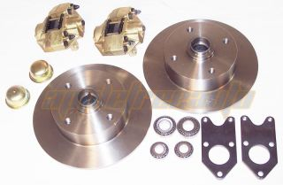 King Pin Disc Brake Kit 4 Bolt Dune Buggy VW Baja Bug