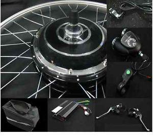 "Rear 48V 800W 26"" Hub Wheel Electric Bicycle Motor Kit Cycling Conversion E Bike"