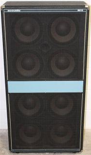 Acoustic B810 B 810 800W 4 Ohm Electric Bass Guitar Speaker Cabinet Cab