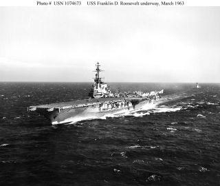 USS Franklin Roosevelt CVA 42 Cruise Book Year Log 1956