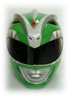 Mighty Morphin Power Rangers Green Power Ranger Helmet Costume Alternative