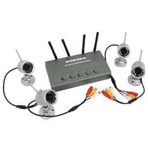 4CH Wireless Security Camera System Home CCTV Security System Night Vision