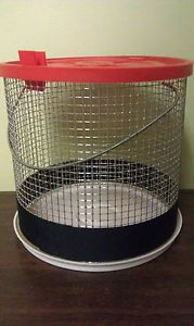 Hermit Crab Cage Habitat Wire Medium Mini Climb Travel House