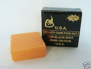 K Brothers Original USA Beauty Care Face Out for Black Spot Whitening Soap 50g