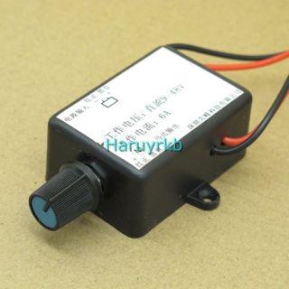 9V 48V 6A DC Motor Speed Control PWM Pulse HHO RC Controller Switch 12V 24V 36V