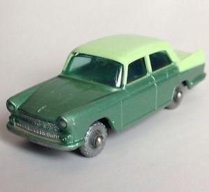 Original Regular Gray Wheels 60s Lesney Matchbox 29 Austin A55 Cambridge 2Tone