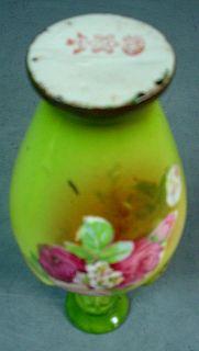 Pair of Austrian Miniature Porcelain Cabinet Vases
