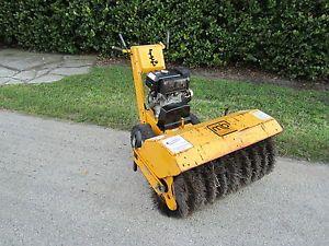 """MB Power Broom 40"""" Sweeper Snow Removal Walk Behind 8 5 Kohler Sand Cleanup"""