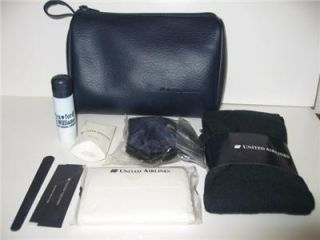 United Airlines Business Class Travel Amenity Toiletry Kit New