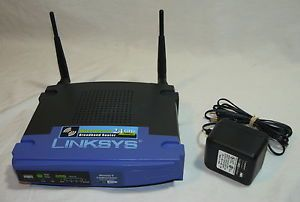 Linksys WRT54G V5 Wireless G Router w DD WRT Firmware Repeater Access Point