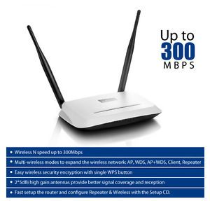 Netis WF 2419 300Mbps Wireless N Router 10dBi Antenna Access Point Repeater WDS