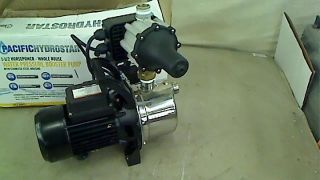 1 1 2 Horsepower Whole House Water Pressure Booster Pump with SS Housing
