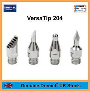 DREMEL Multi Tool Accessories 204 Pyrography Tip Set VersaTip Gas Torch Kit