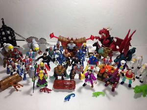 Fisher Price Imaginext Castle Knights Pirates Figures Accessories Parts Lot 3lbs