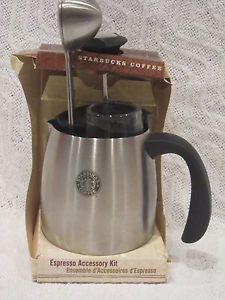 Starbucks Coffee Espresso Accessory Kit New in Box